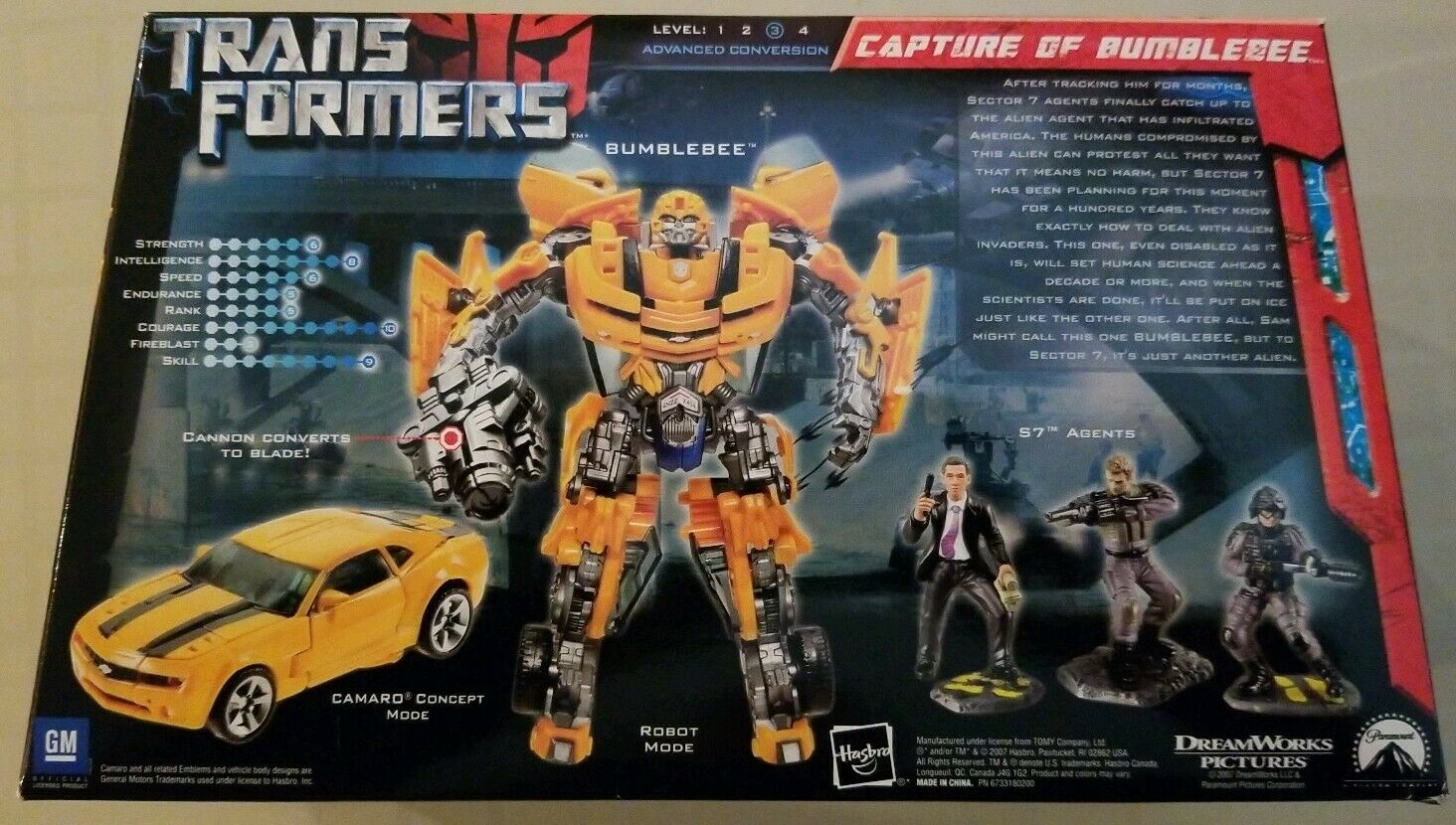 2007 HASBRO Transformers Movie Screen Battles - - - CAPTURE OF BUMBLEBEE Set - NEW  cc5b11