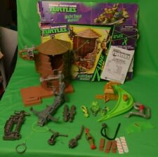 Teenage Mutant Ninja Turtles Z-Line Water Tower Washout Playset Playmates Toys 95051