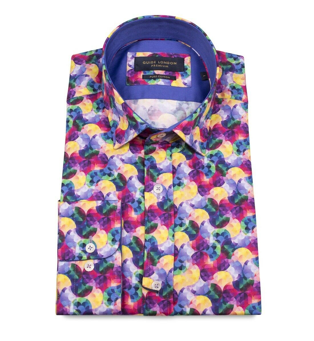 "GUIDE London. Multi Colour. XXL. BNWT. 48"" Chest. Stunning"