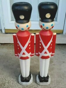 Soldier-Plastic-Blow-Mold-Empire-Lighted-Christmas-Decoration-1980s