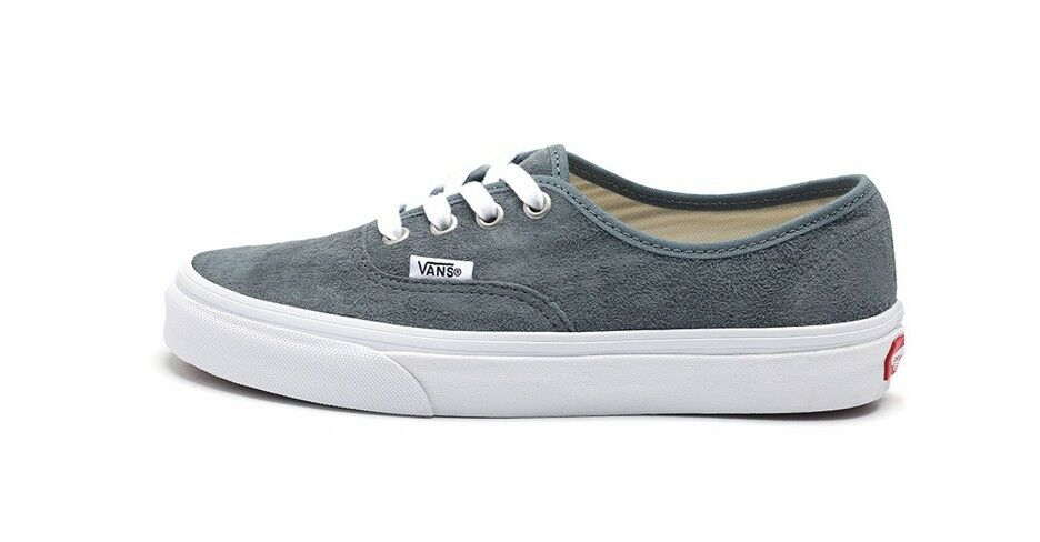 VANS AUTHENTIC GRAY SUEDE SHOES  VN-0A38EMU5N
