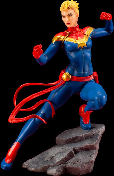 Marvel Comics Avengers Captain Marvel Statues  ARTFX SERIES kotobukiya sideshow  70% de réduction