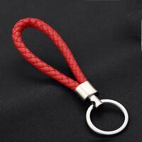 2017 Fashion Men Leather Key Chain Ring Keyfob Car Keyrings Keychain Gifts GF