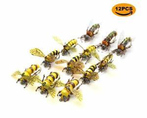 Flyafish-Honey-Bee-Wasp-Bumble-Bee-Dry-Fishing-Fly-Lure