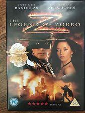 Antonio Banderas Catherine Zeta Jones LEGEND OF ZORRO ~ Adventure Sequel UK DVD