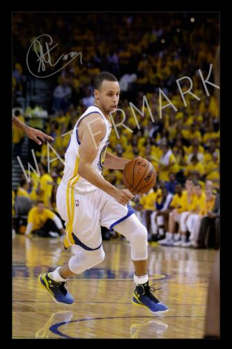 Stephen Curry Signed Autograph A4 Photo Print Poster/Framed or Unframed Availab