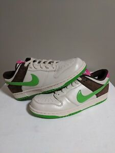 check out 184b8 b71d8 Details about Nike Dunk Low Premium Birch Green Bean Cinder Wmns 11