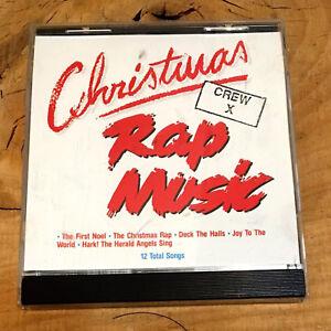 Christmas Rap Music.Details About Christmas Rap Music Crew X Cd Jingle Bells Deck The Halls Vintage 1992 Christmas