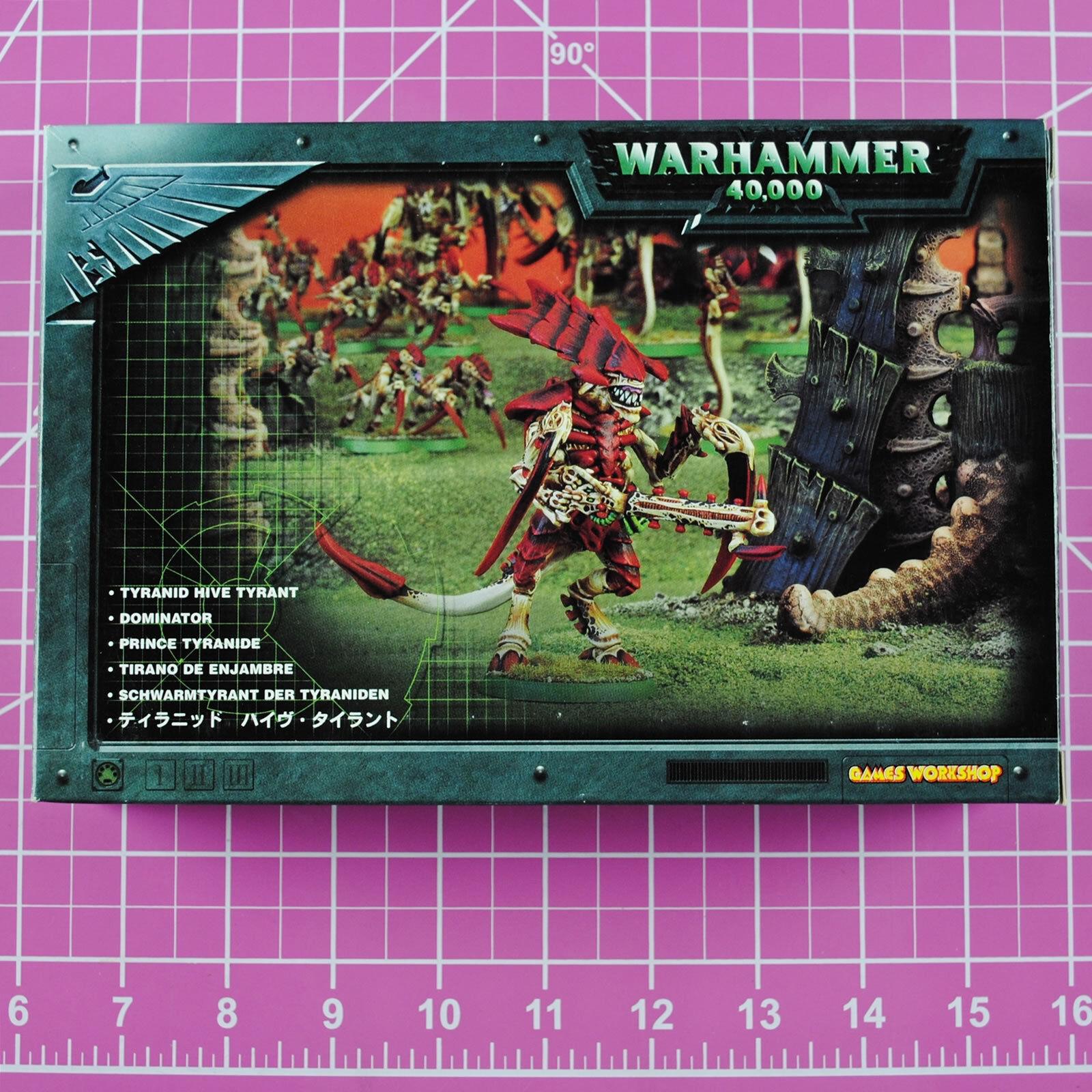Warhammer 40K Tyranid Hive Tyrant (Metal & Plastic Version) OOP Citadel Tyranids