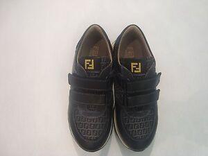 Sneakers-FENDI-mis-33-scarpe-bambino-nuove-5007-5446