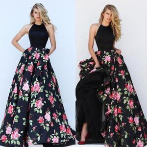 4739a0cf2a1 UK Lady Long Formal Prom Dress Cocktail Party Ball Gown Evening ...