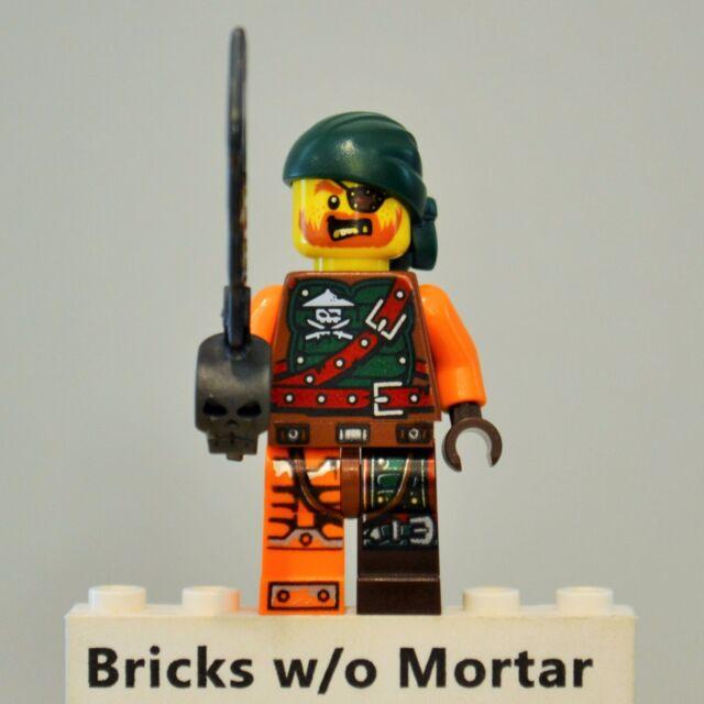 New Genuine LEGO Lloyd Skybound Minifig with Staff Ninjago 70593