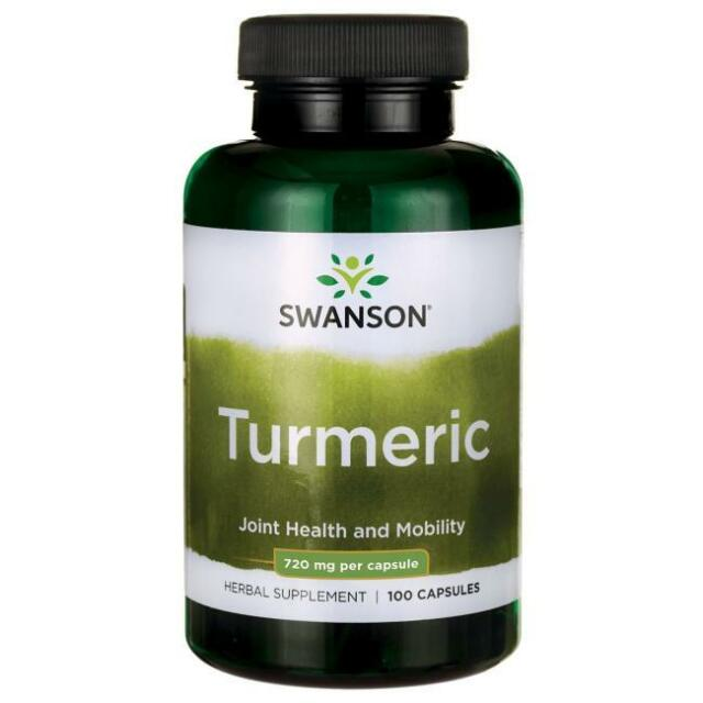 Swanson Premium Turmeric 720MG 100 Caps Gastrointestinal Health Antioxidants NOW