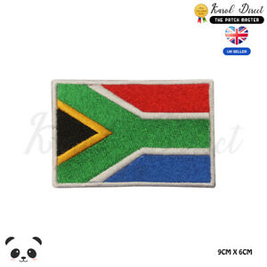SOUTH-AFRICA-National-Flag-Embroidered-Iron-On-Sew-On-Patch-Badge-For-Clothe-etc