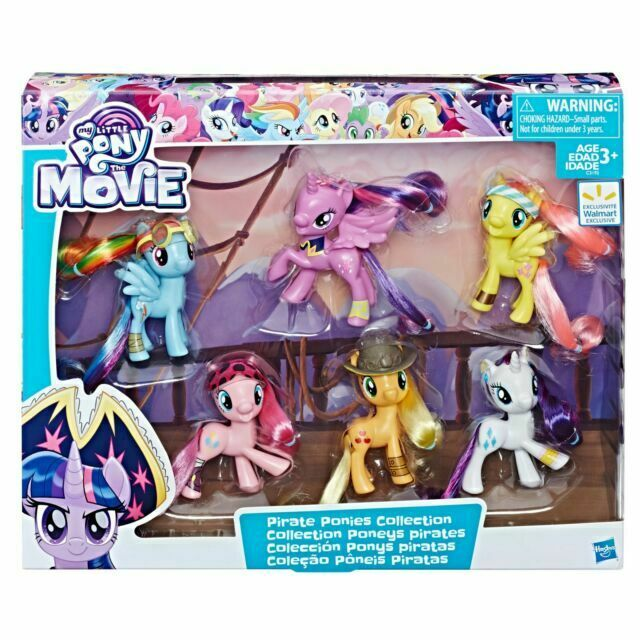 My Little Pony Collection Twilight Sparkle 6 Pirate Ponies 5 Accessories Age 3 For Sale Online Ebay