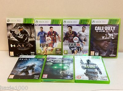 XBox 360 video games bundle, 7 items, Good used condition