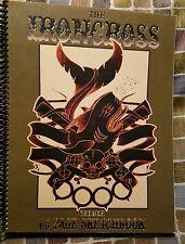 Iron Cross Tattoo Sketchbook Sketch Book flash book skulls roses neo traditional