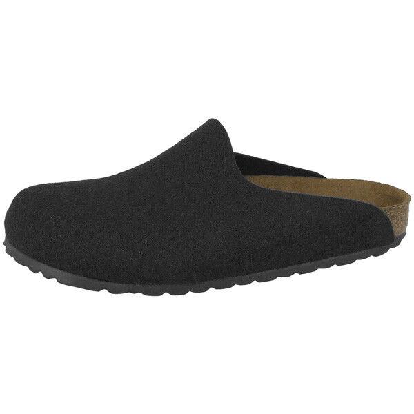 Birkenstock Amsterdam Woll-Filz Weite Clogs Schuhe 559123 Pantolette Weite Woll-Filz schmal 9e3301