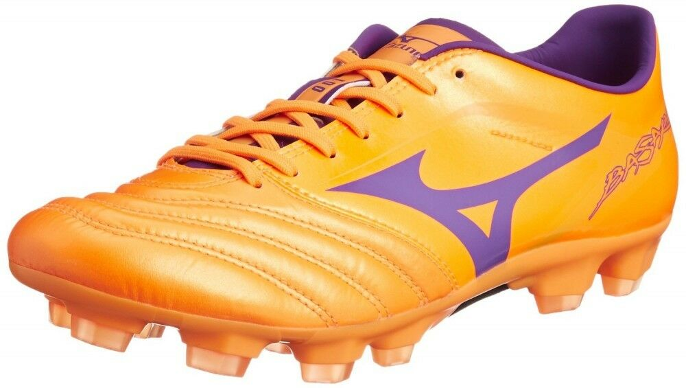 Zapatos de fútbol de Mizuno Spike Basara 001 KL P1GA1562 X Morado Naranja