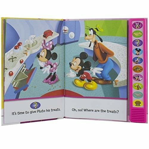 Minnie Mouse Book I/'m Ready To Read Sounds Girl Toy Gift Kids Toddler Gift New
