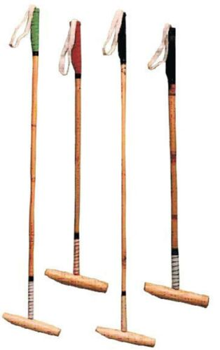 4 POLO STICKS ROOT CANE MALLETS POLO MALLETS, POLO STICK, TOP QUALITY MALLETS