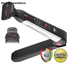 Mangroomer Ultimate Pro Back Shaver With 2 Shock Absorber Flex Heads Power Hing