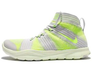09b45d2394d14 Nike Free Train Virtue Training Shoes Men s US 10 Platinum 898052 ...