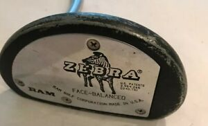 Ram-Golf-Zebra-Face-Balanced-Mallet-Putter-35-5-Inches-Right-Hand