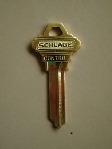 """Schlage Control Key /""""F/"""" Keyway"""