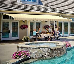 18 Sunsetter Vista Awning With Acrylic Fabric By Sunsetter Awnings