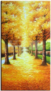 40x80-CM-Modern-Fashion-Hand-painted-Frameless-On-Canvas-Art-Oil-Painting