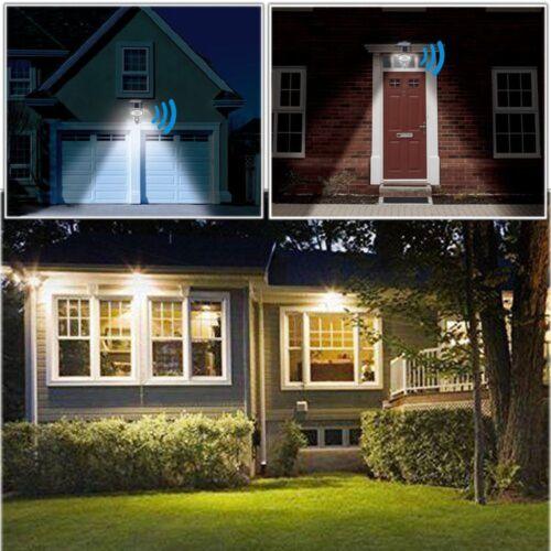 Grundig 15 LED Solar Leuchte Bewegungsmelder Camping Dome Schirm Wand Zelt Lampe