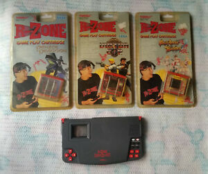 Tiger Electronics R-Zone Data Zone Game System +3 Games ...