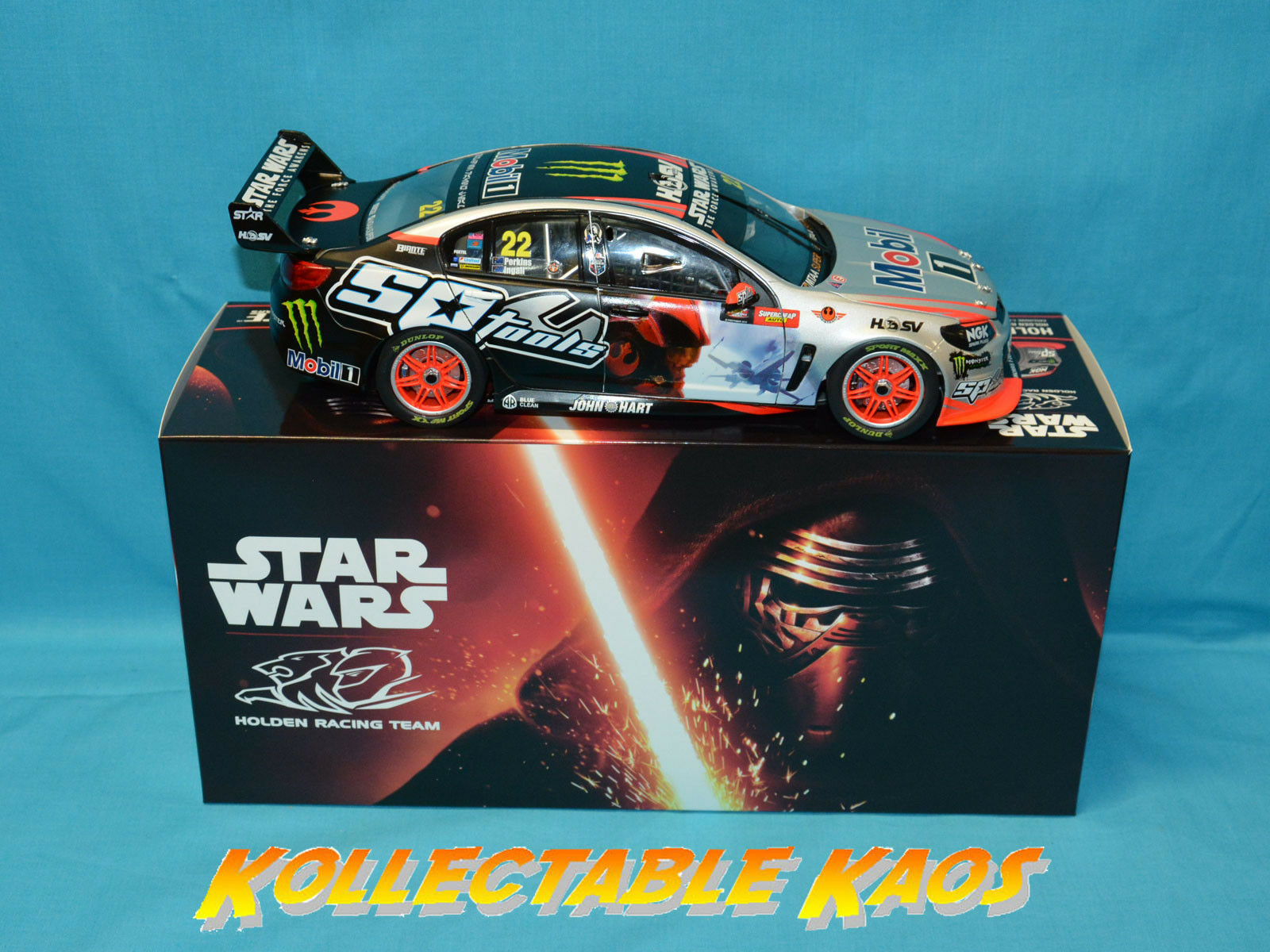 1:18 Biante - 2015 Bathurst - - - HRT Commodore - Ingall/Perkins - Star Wars Livery bbb8e7