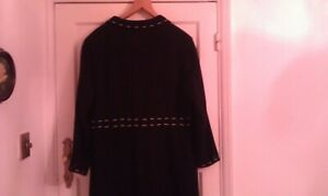 Paul Thread White Coat Separates Black Gorgeous Finish18 Stitch New Buttons Vtg SqAOTxq5w