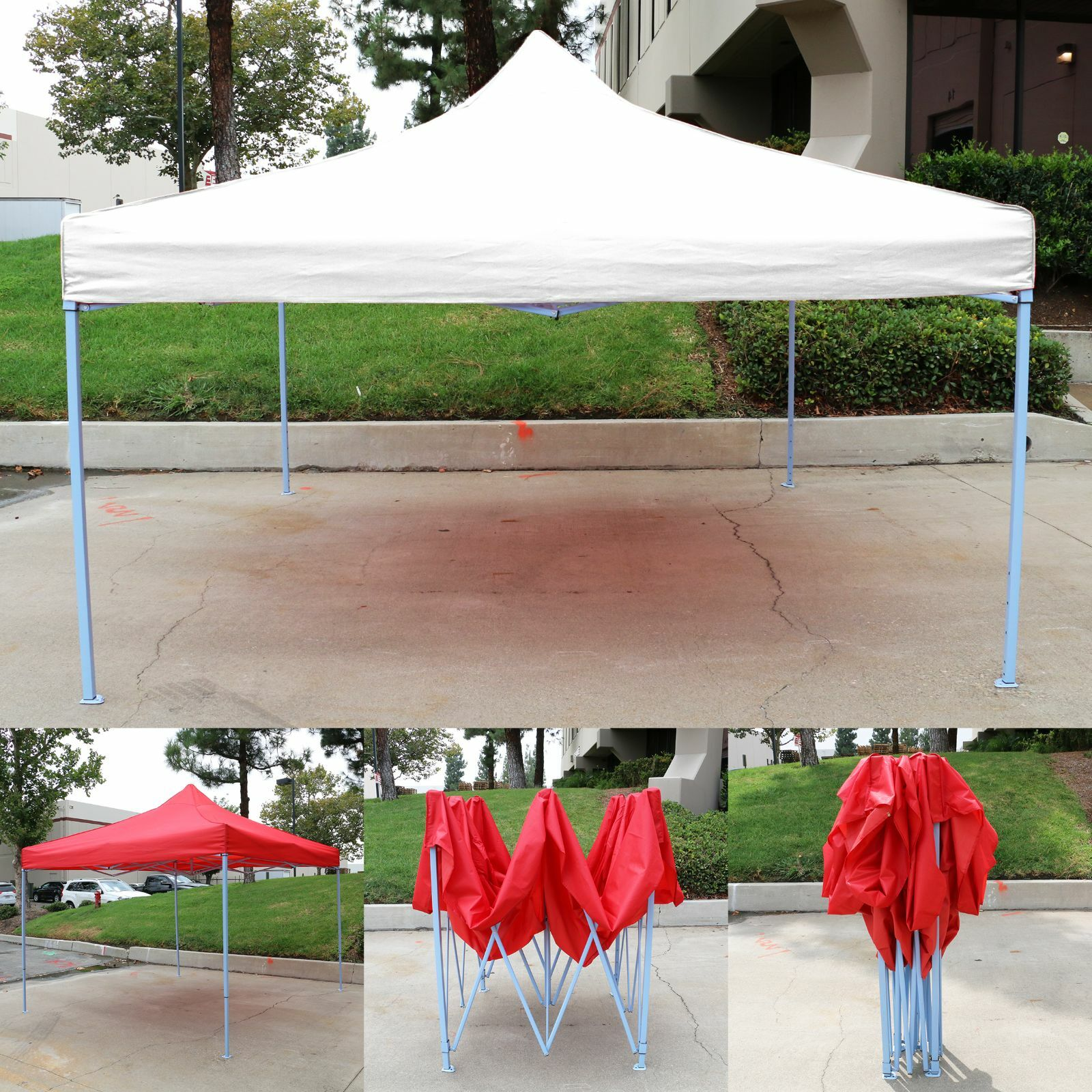 Wedding With White Tent: Canopy Tent 10x10 Commercial Fair Shelter Car Shelter