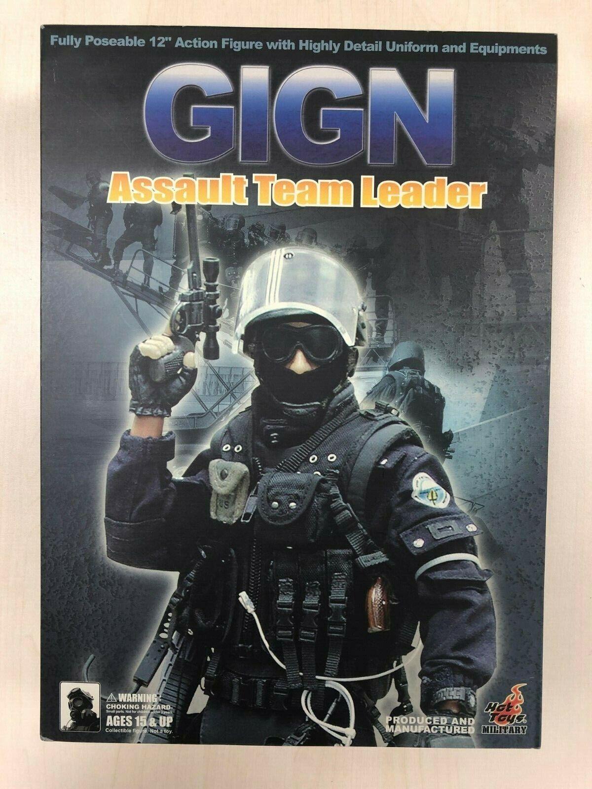 heta leksaker militär- GIGN Assault Team Leader 12 tum Action Figur NY