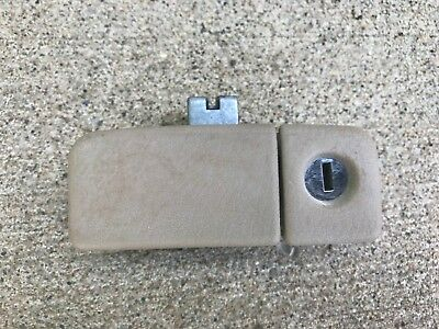 1994-1997 Honda Accord Glove Box Lock HANDLE Latch Light Gray OEM Part