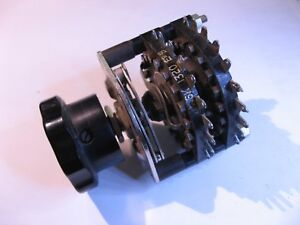 Rotary-Selector-Switch-2-Pole-19-Position-Non-Short-Used-Pull-Qty-1