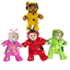 RAINCOAT-OUTFIT-FITS-8-inch-20cm-TEDDY-BEAR-CLOTHES-red-pink-green-yellow thumbnail 1