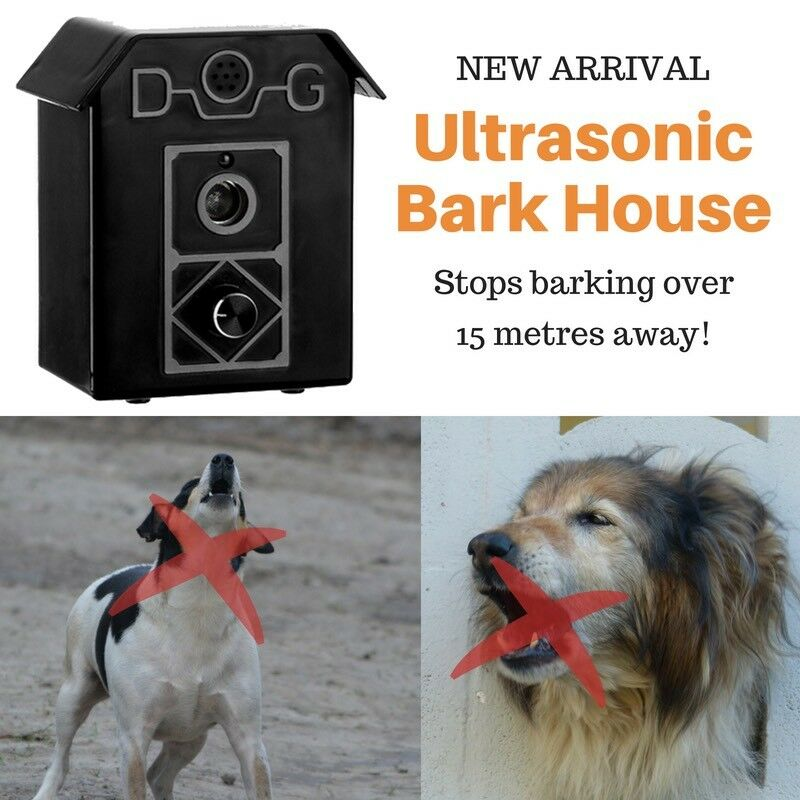 Stop Barking Dogs Fast  Ultrasonic Anti Bark Dog Silencer Controller Bark House