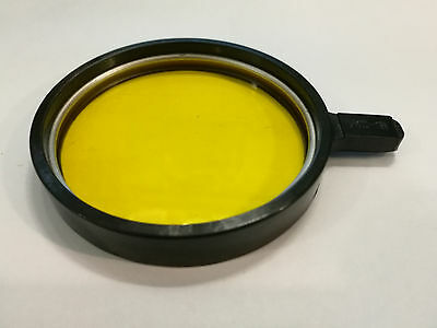 Filter lomo ussr 63mm For a microscope GS-18 GC18; GC-18;YELLOW
