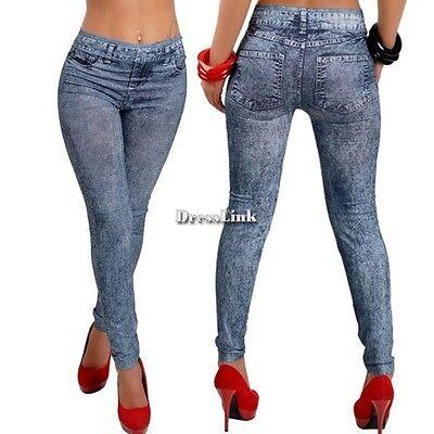 Le donne Skinny Jeggings colorati elastici dei pantaloni molle sexy calzamaglia