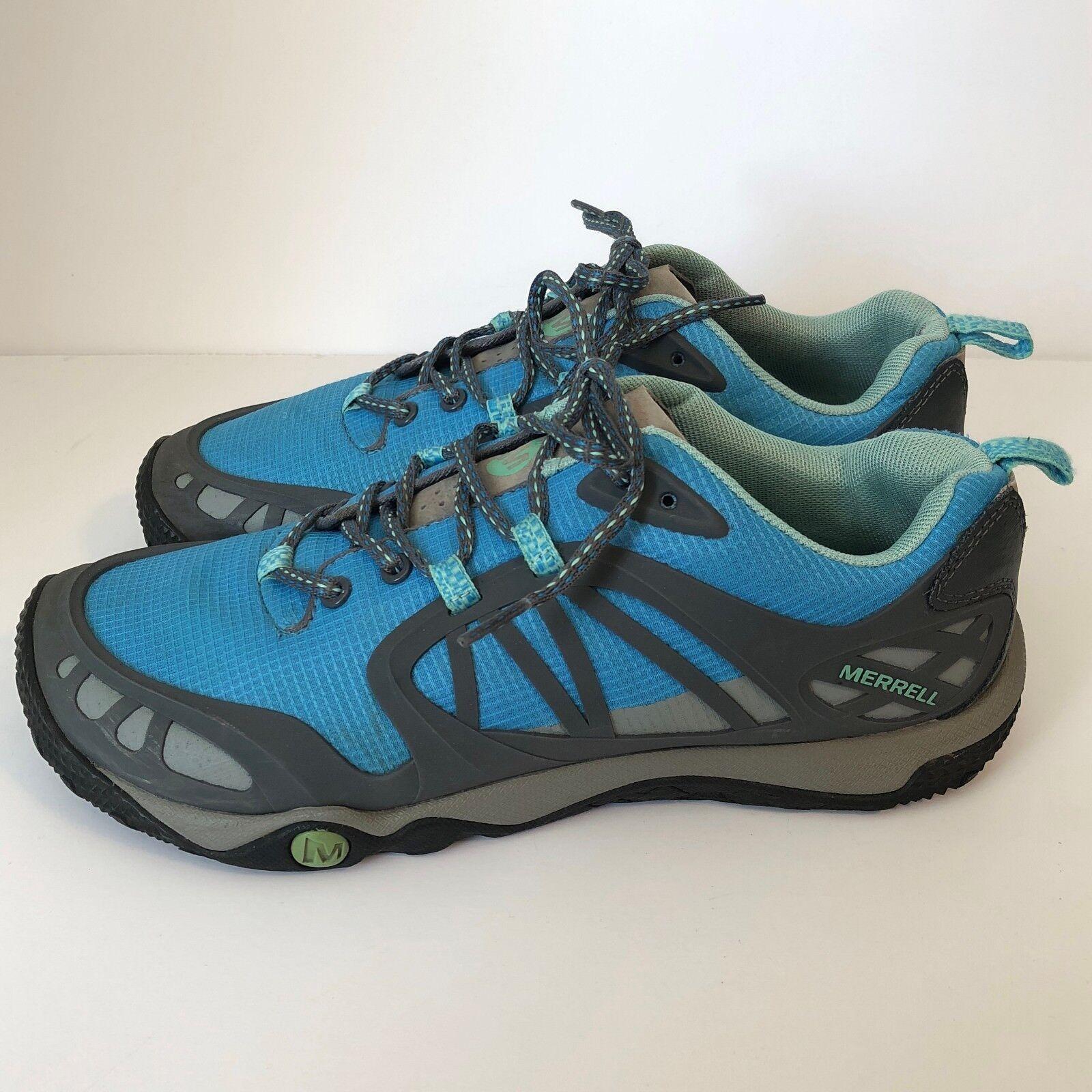 Merrell Women's Hiking shoes Prederra Vim Sport Sea Shore Size 9.5 bluee