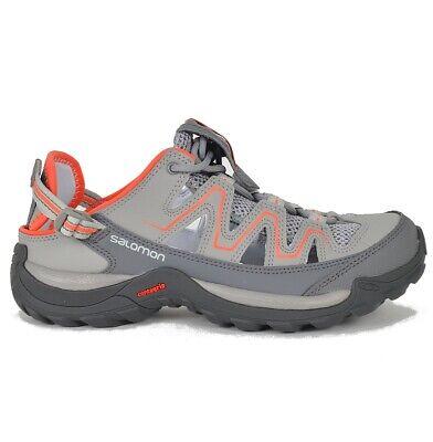 Salomon Cuzama W Damen Outdoor Sandale Wanderschuhe Trekking Shoes Schuhe grau | eBay