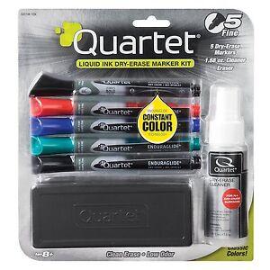 Quartet-Dry-Erase-Markers-Accessory-Kit-Fine-Tip-EnduraGlide