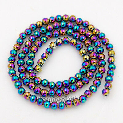 """Wholesale Lot Natural Gemstones 3.5mm ~ 4mm ~4.5mm Round Loose Beads 15"""""""