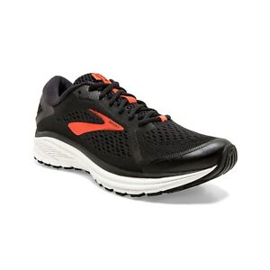 BROOKS-ADURO-6-Scarpe-Running-Uomo-Cushion-Neutral-BLACK-CHERRY-WHITE-110281-036