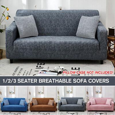 4 Seater Sofa Slipcover Elastic Stretch