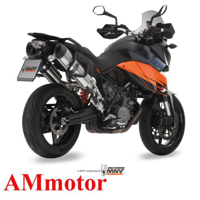 Mivv Ktm 990 Supermoto Smt 2010 10 Escape Moto Silenciador Suono